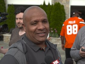 Watch: Hue Jackson: Todd Haley has done a great job implementing the new system