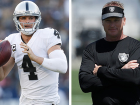 Watch: Tim Brown: Derek Carr may be 'a little too nice' for Jon Gruden