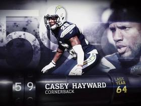 Watch: 'Top 100 Players of 2018': Casey Hayward | No. 59