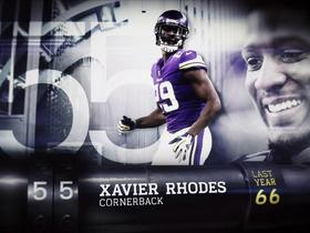 Watch: 'Top 100 Players of 2018': Xavier Rhodes | No. 55