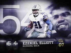 Watch: 'Top 100 Players of 2018': Ezekiel Elliott | No. 54