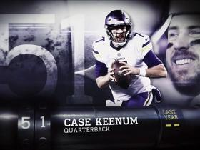 Watch: 'Top 100 Players of 2018': Case Keenum | No. 51