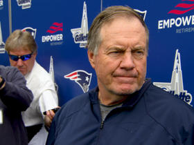 Watch: Bill Belichick 5/22: 'It's always good to back on the field'