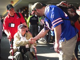 Watch: Buffalo Bills Honor Flight