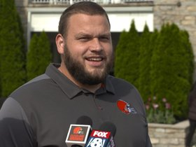 Watch: Joel Bitonio: I'm excited to see who will line up next to me
