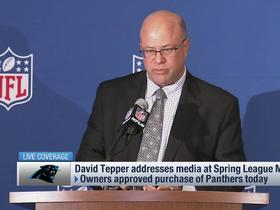 Watch: Tepper's three priorities as Panthers owner: 'Winning... winning... (and) winning'