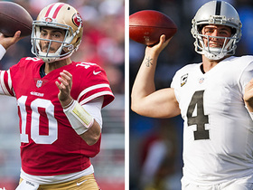 Watch: Jimmy G or Derek Carr: Which Bay Area QB will have more TD passes in 2018?
