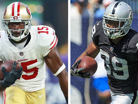 Watch: Pierre Garcon or Amari Cooper: Which Bay Area WR will have bigger bounce-back year in 2018?