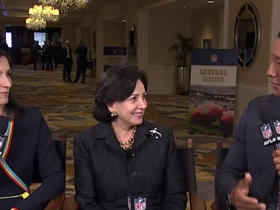 Watch: Saints owner Gayle Benson on hosting SBLVIII: It's important to carry on my husband's legacy