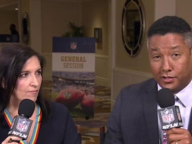 Watch: Judy Battista, Steve Wyche discuss details of new national anthem policy
