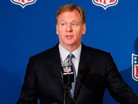Watch: Goodell, owners and team officials announce details of new national anthem policy