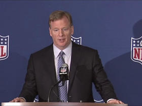 Watch: Roger Goodell's full press conference on new national anthem policy