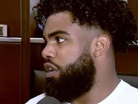 Watch: Ezekiel Elliott: I'm focused on being 'more vocal' heading into 2018