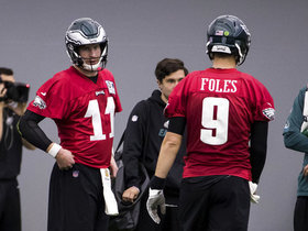 Watch: Burleson: Nick Foles will spell Carson Wentz multiple times in 2018