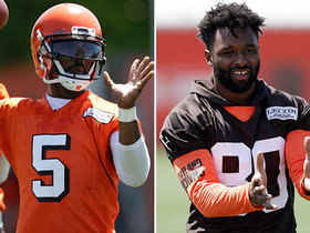 Watch: Highlights from Tyrod Taylor, Jarvis Landry at Browns OTAs
