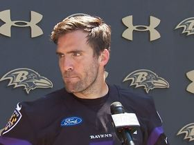 Watch: Flacco speaks out for the first time on Ravens drafting Lamar Jackson
