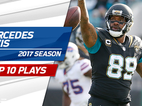 Watch: Top 10 Marcedes Lewis plays | 2017 season