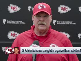 Watch: Andy Reid on Patrick Mahomes: 'He is absorbing everything'