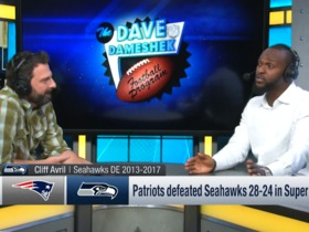 Watch: Cliff Avril describes SB XLIX loss: 'Guys started questioning Pete Carroll more'