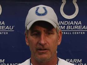 Frank Reich says Colts 'switched around' Andrew Luck's recovery schedule a bit