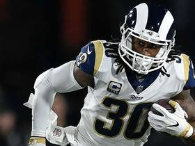 Burleson: Gurley is too hard to stop when 'he gets going'