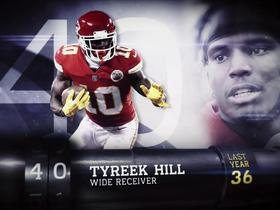 'Top 100 Players of 2018': Tyreek Hill | No. 40