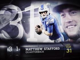 'Top 100 Players of 2018': Matthew Stafford | No. 31