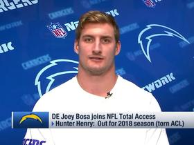Joey Bosa on younger brother Nick: 'He's an absolute monster'