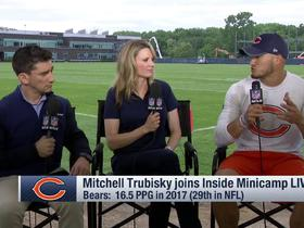 Mitchel Trubisky explains why he's off social media
