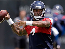 James Palmer: Deshaun Watson practiced without knee brace Tuesday