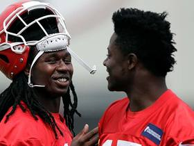 Palmer: Players say no one has picked up Reid's offense as quickly as Watkins has