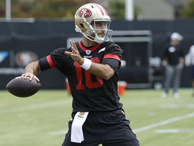 Temper expectations? Why Jimmy G may be the most hyped QB of 2018