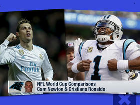 NFL-World Cup player comparison: Cam Newton and Cristiano Ronaldo