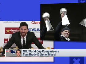 NFL-World Cup player comparison: Tom Brady and Lionel Messi