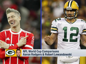NFL-World Cup player comparison: Aaron Rodgers and Robert Lewandowski