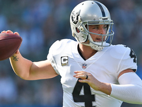 Rod Woodson says Raiders' chances next season depend on this stat line from Derek Carr