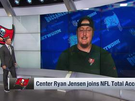 Watch: Ryan Jensen on Jameis Winston: 'He has all the talent and skills'