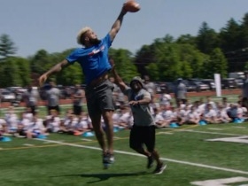 Watch: Best moments from Odell Beckham Jr.'s youth football camp