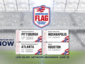 Watch: Everything you need to know about the American Flag Football League