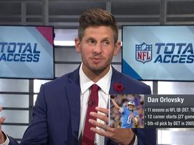 Watch: Dan Orlovsky previews the players to watch in the American Flag Football League