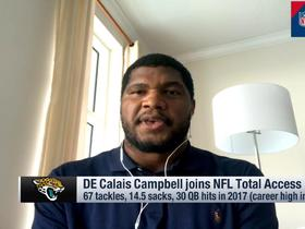Calais Campbell: Jags gave me opportunity to play 'true defensive end'