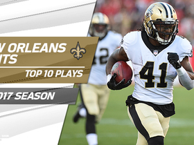 Watch: Top 10 Saints plays of 2017