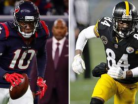 Watch: Nate Burleson ranks the five best wide receivers of 2018