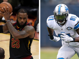 Watch: Reggie Bush: LeBron James would lift Browns to playoffs next season