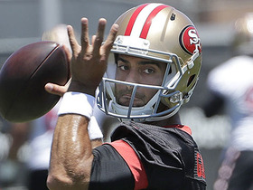 Watch: Peter King: 'We'll think of Jimmy Garoppolo as a Top 5 QB after this year'