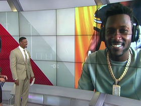 Watch: Antonio Brown reacts to being named 'Madden 19' cover athlete