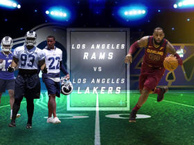 Watch: Which LA team had the more exciting offseason: Rams or Lakers?