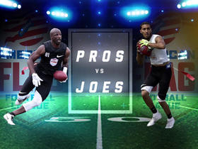 Watch: Who will win AFFL Championship: Pros or Joes?