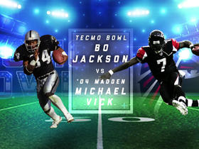 Watch: Better video game player to use: Bo Jackson or Michael Vick?