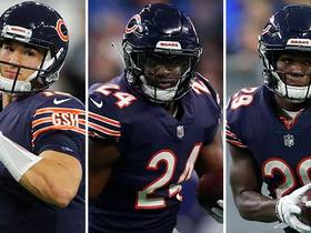 Watch: Burleson: Trubisky should lean heavily on Bears' RB duo